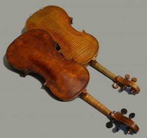 Violins by Nicolo Amati (1647) and Thomas Urquhart (1663)