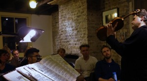 At Wilton's Music Hall-thanks to the team there for organising! 28 10 15 Photos: Malene Sheppard Skaerved