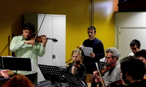 Rehearsing Mihailo Trandafilovski's 2nd Concerto-'Diptych': if you don't know it, have a listen.