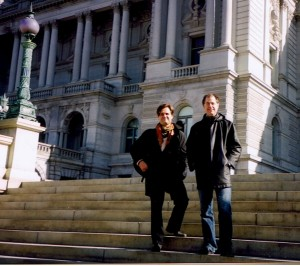 First concert at Library of Congress, Washington, 2006