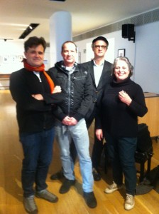 Soundbox. February 11th, 2014. With Nigel Clarke-Composer, Joanna Jones-Artist, and pianist Jan Philip Schulze