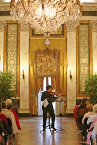 The Premiere of Judith Bingham's 'Lost Works of Paganini' in Genova. 2007