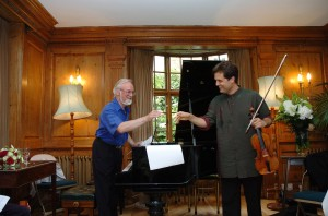 With Composer John MCabe-Burgh House, 2006-See Event Friday February 18th (bottom of post)