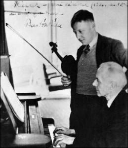 Bartok with Zoltan Szekely