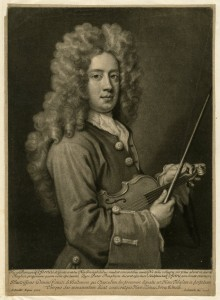 Mezzo-tint of Kneller's lost painting of Nicola Cosimi