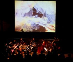Longbow (Soloist Peter Sheppard Skaerved) playing Mihailo Trandafilovski's 'Diptych' with Joanna Jone's 'Re-Veil-le' (film by Dominic de Vere)