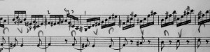 'Chromatic 'un-violinistic'(?!) writing-the beginning of the new approach
