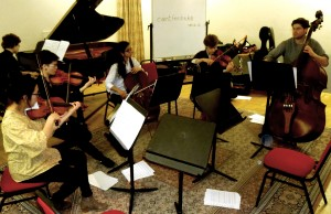 The final workshop. Recital Room. Royal Academy of Music 7 3 14