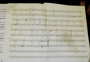 Sara Cubarsi-Fernandez's working sketch for extracting 53 divisions of the octave with standard notation and 'expressive intonation' 7 3 14