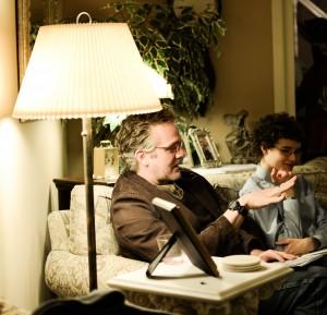 Composers Michael Slayton & Sean Calhoun. 24 2 14