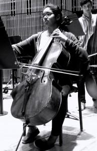 Caitlin Quintlan, cello