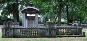 The grave of Sir John Soane