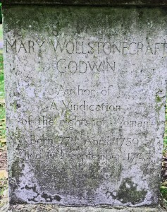 Grave of Mary Woollstonecraft