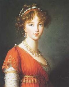 Pushkin's  lover, Anna Petrovna Kern