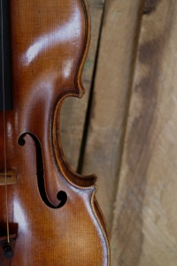 Hill violin in a carpenter's wood store. Old Town, Nikosia 4 12 14