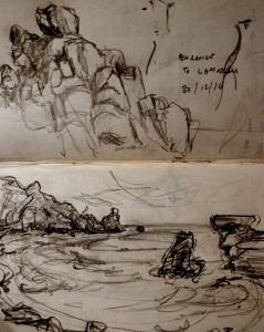 Lamorna, Rocks 30 12 14
