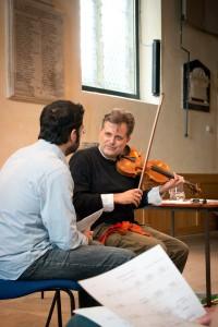 With Emmanouil Ekmektsoglou  Photo Chris Leedham
