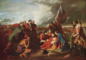 The Death of General Wolfe-Benjamin West
