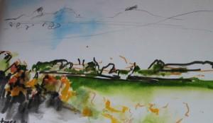 Autumn flashes past. Brunel's railway-en route to Oxford 20 10 15