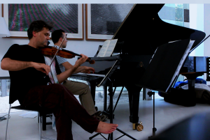 Messiaen, with Roderick Chadwick. Shoe Factory, Nikosia http://www.