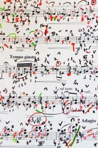 My performing score: Ländler(1977)
