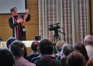 Talking about Viotti and Stradivari . David Josefowitz Recital Hall, 30 9 16