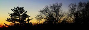Autumn Morning in Stillwater Minnesota. Frost