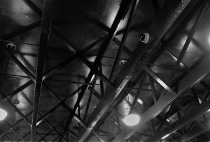 The roof of the Old Train Depot-soon to the the Zephyr Threater. Stillwater 11 11 16