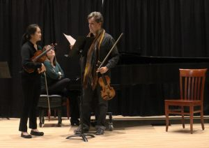 Masterclass at the Hastings Arts Centre. 12 11 16